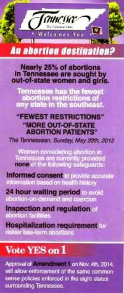 TENNESSEANS for CHRISTIAN VALUES PAC (1/2)